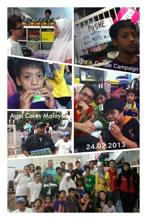 Agel Cares Malaysia - supporting HIV Kids thruout 2013!