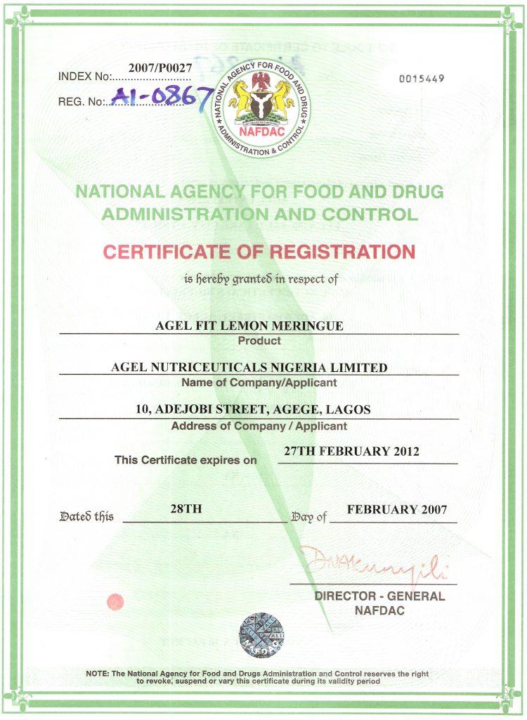 agel National Agency food & drug